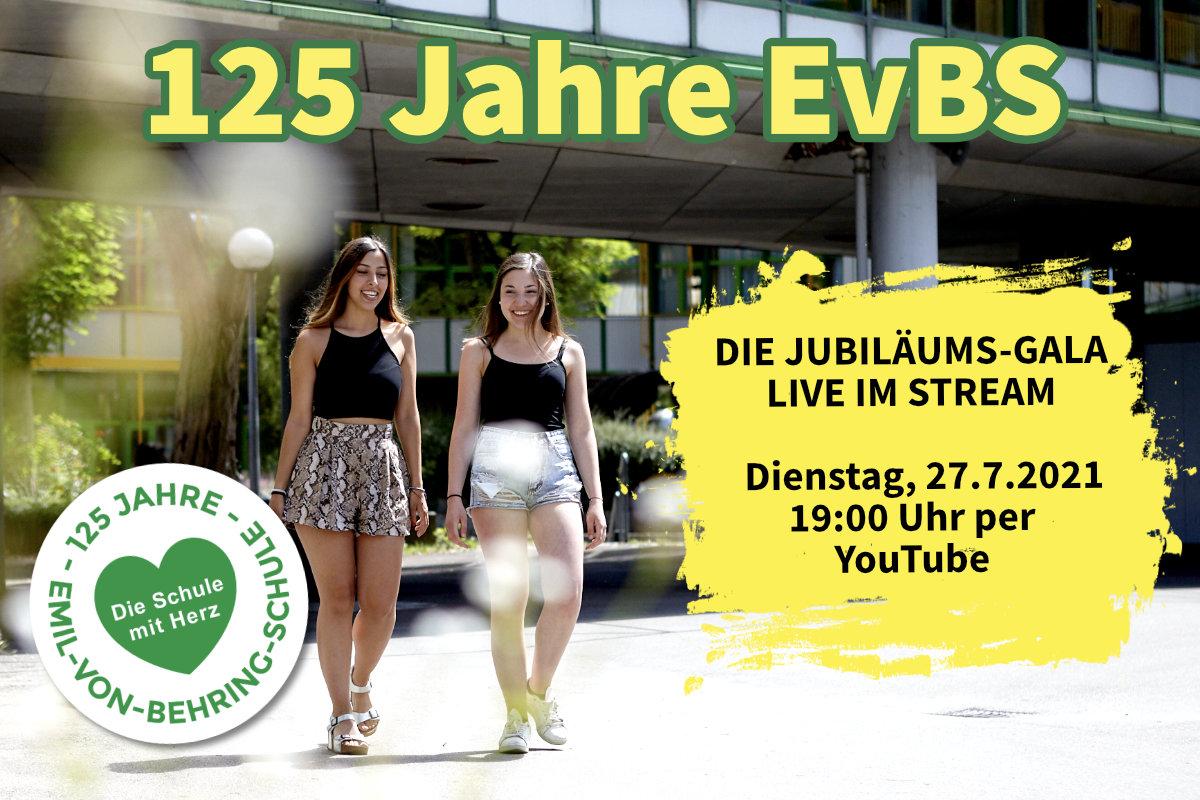 125 Jahre EvBS – Die Jubiläums-Gala live im Stream